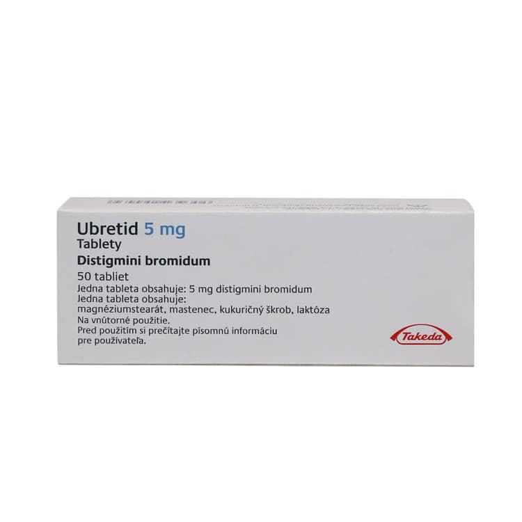 препарат Убретид / Ubretid / Дистигмін 5 мг №50