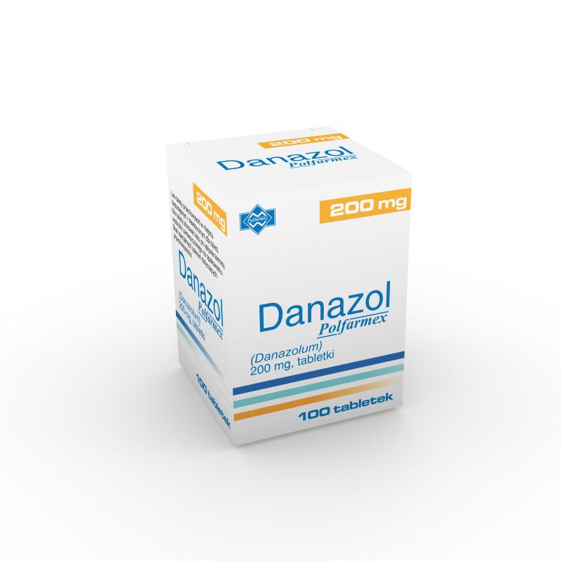 препарат Даназол / Danazol 200 мг №100
