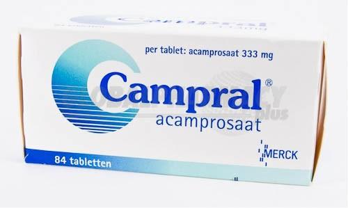 препарат Кампрал / Campral / Acamprosaat 333 мг №84