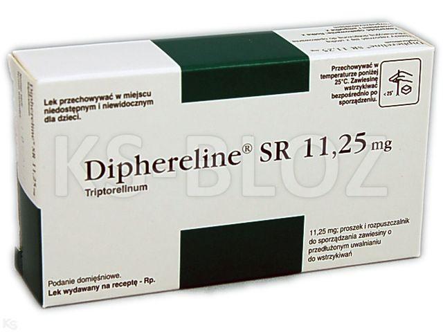 препарат Диферелін 11,25 мг (Dipherelin)