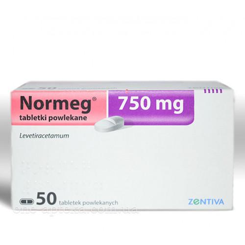 препарат Нормег / Normeg / Леветірацетам 250/500/750 мг