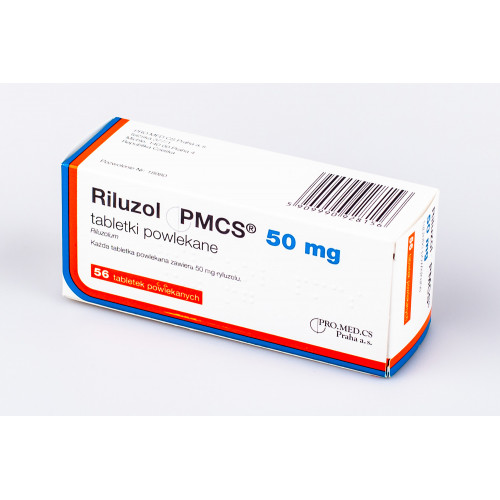 препарат Рілузол / Riluzol 50 мг №56