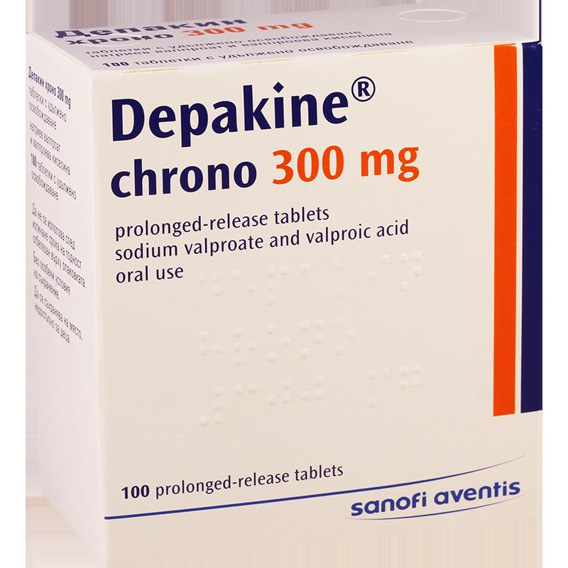 препарат Депакін хроно