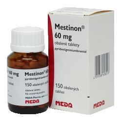 препарат Местінон / Mestinon / Піридостигмін 60 мг №150