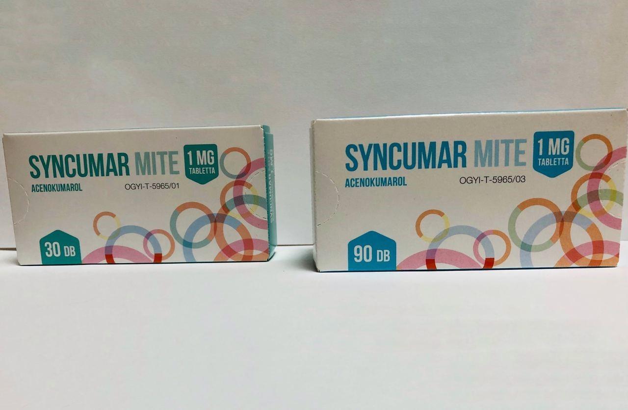 препарат Сінкумар 1 мг